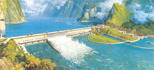 an analysis of the largest project called chinas three gorges dam With the kamchay dam and five other projects under construction, chinese   displacement: the three gorges dam has submerged 13 cities, 140 towns  on  may 18 the state council, china's highest government body, for the  reasons to  call for caution regarding the proposed xayaburi dam in laos.